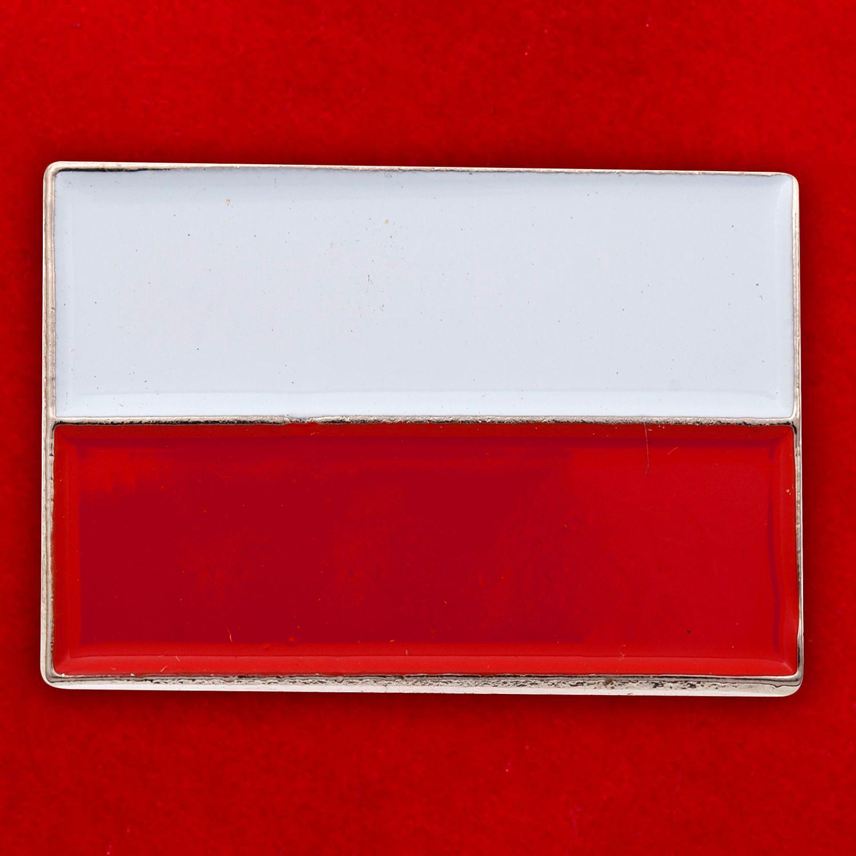 """Значок """"Польша"""""""