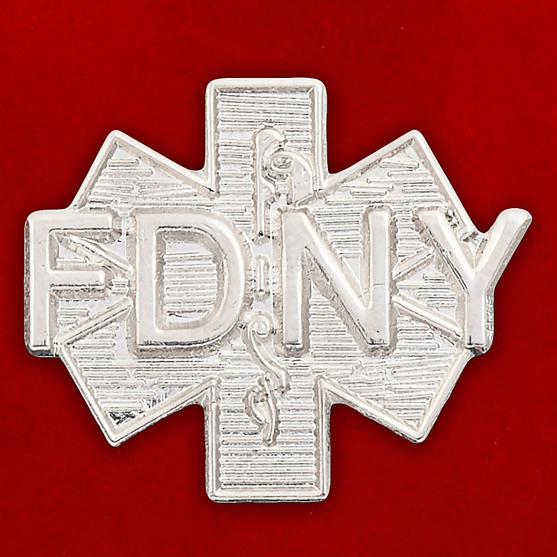 """Значок """"Пожарная служба города Нью-Йорк"""""""