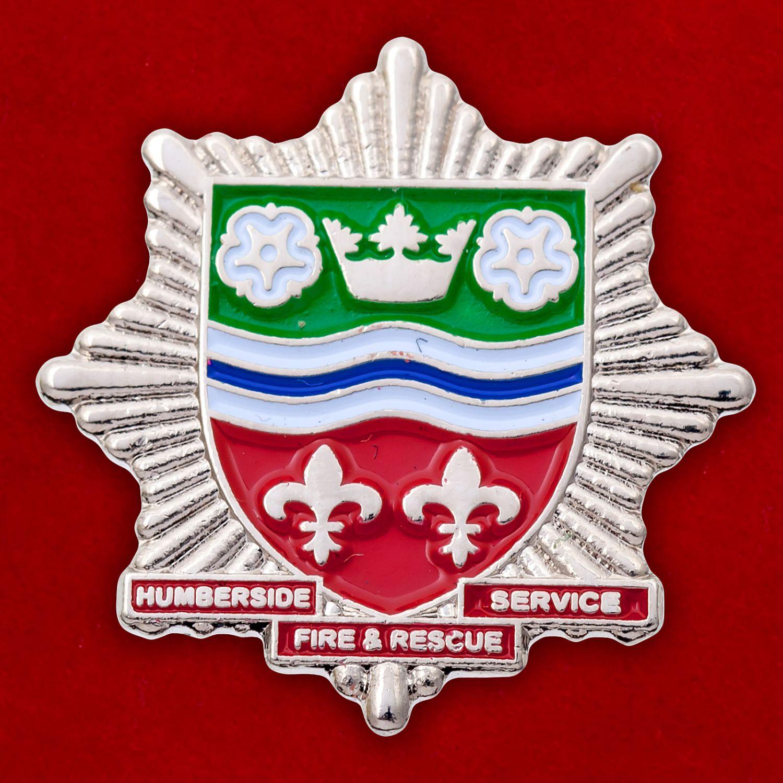 Значок пожарно-спасательной службы Хамберсайда