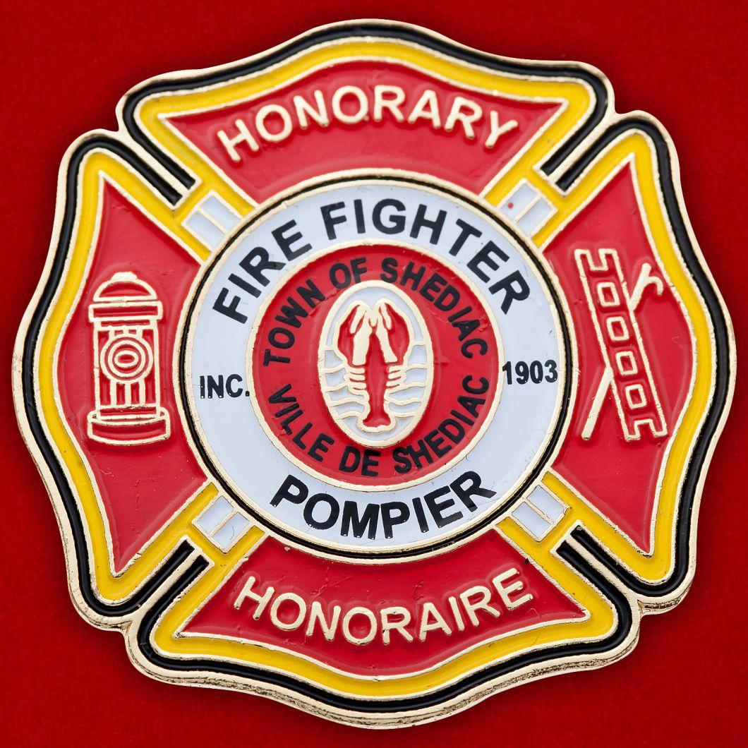 Значок Пожарной охраны Шедьяка, Канада