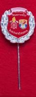 Значок пожарных города Райхерсбойерн, Германия (серебро)