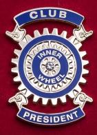 """Значок """"Президентский внутренний круг"""" международной парамасонской организации Rotary International"""