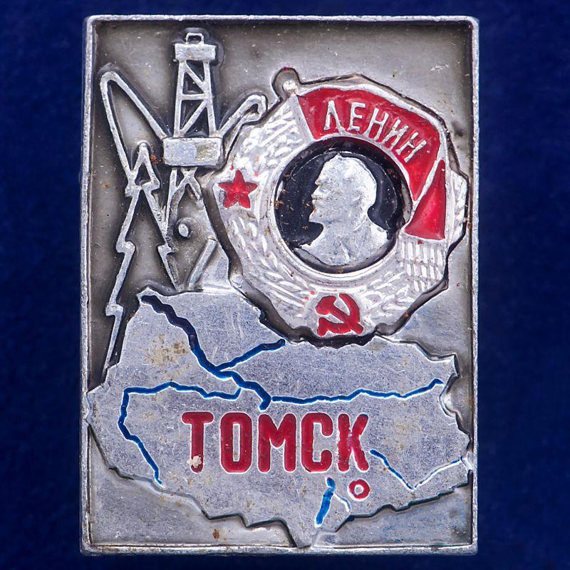 """Значок """"Промышленный Томск"""""""