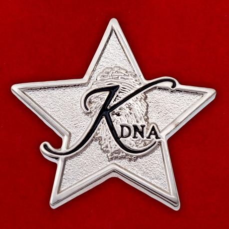 Значок радиостанции KDNA