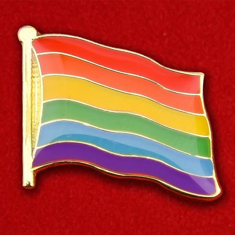 Значок Радужного флага