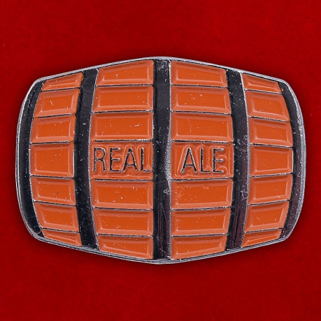 "Значок ""Real Ale Barrel"""