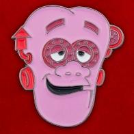 """Значок """"Розовая голова"""""""