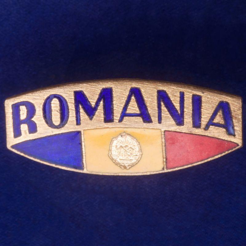 """Значок """"Румыния"""""""
