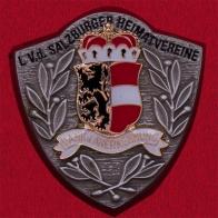 """Значок """"С благодарностью и признательностью"""" от общества сохранения народных традиций Salzburger Heimatvereine, Австрия"""