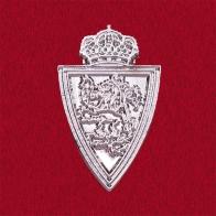 Значок с эмблемой Вооруженных Сил Бельгии