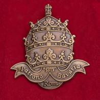 """Значок с фестиваля баварской культуры и музыки """"Патрона Баварии"""" в 2015 году в Риме"""