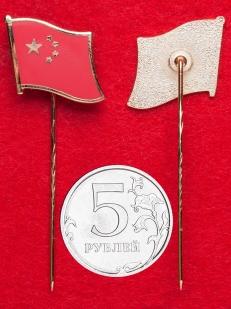 Значок с флагом Китайской Народной Республики