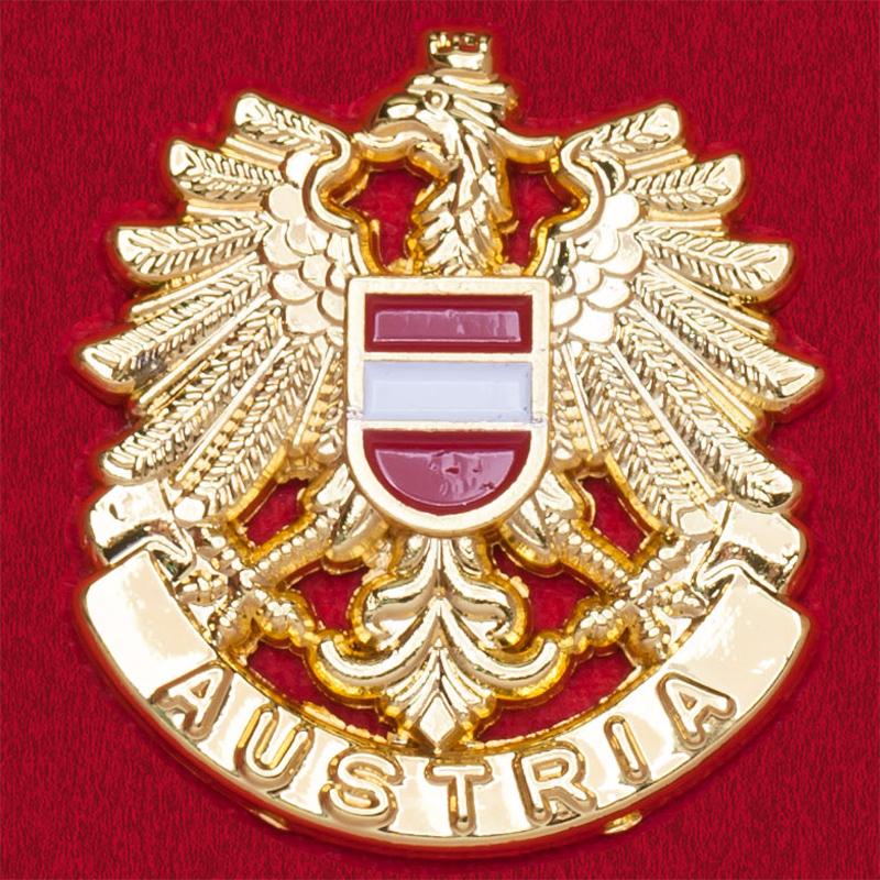Значок с гербом Австрии (для портмоне, золото)