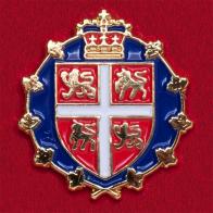 Значок с гербом Лейтенант-губернатора провинции Ньюфаундленд и Лабрадор, Канада