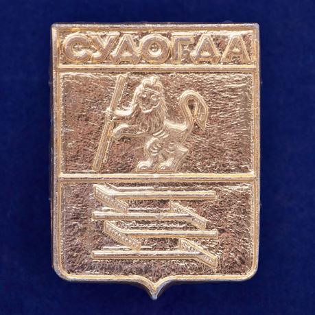 Значок с гербом Судогды