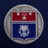 Значок с гербом Волгограда