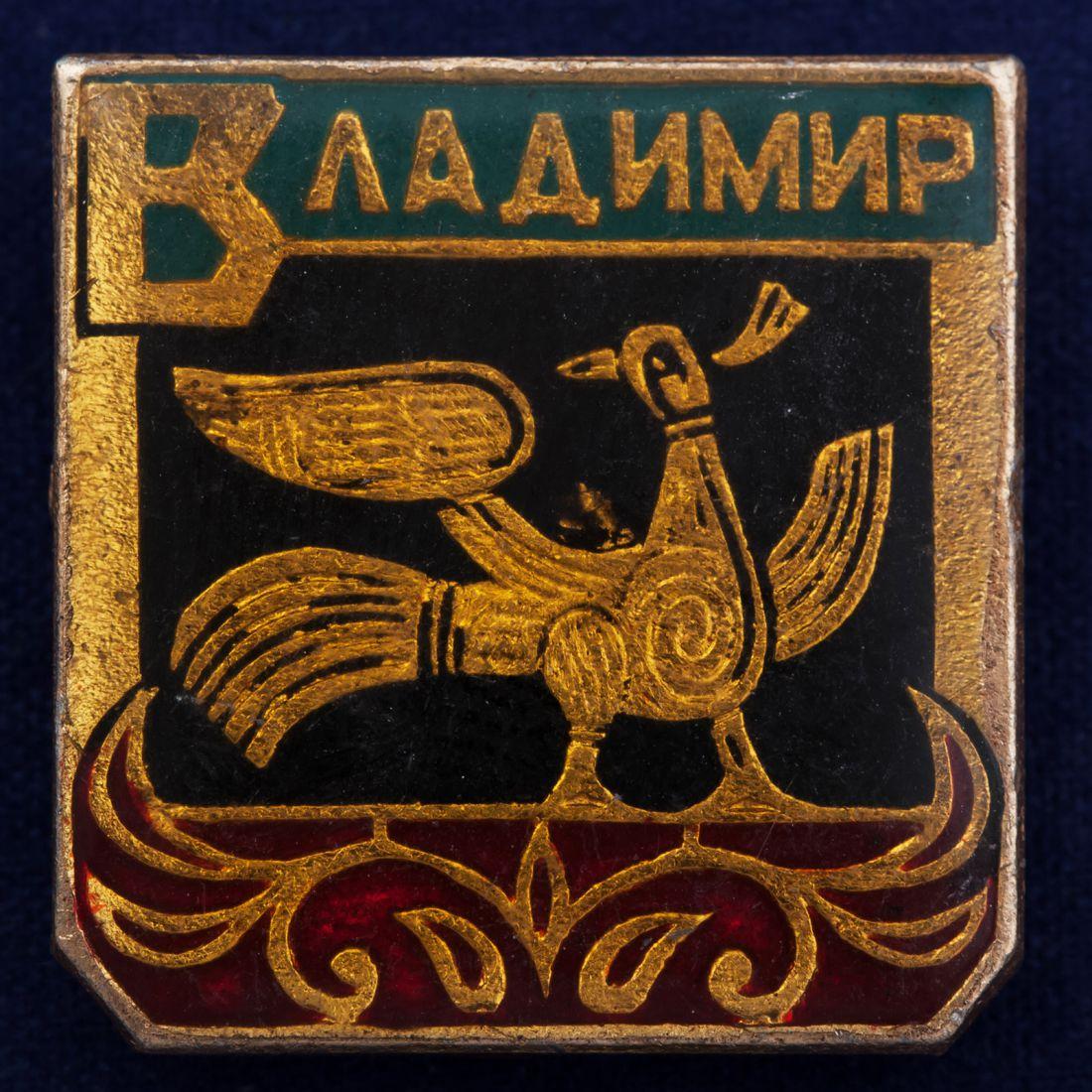 Значок с изображением сокола