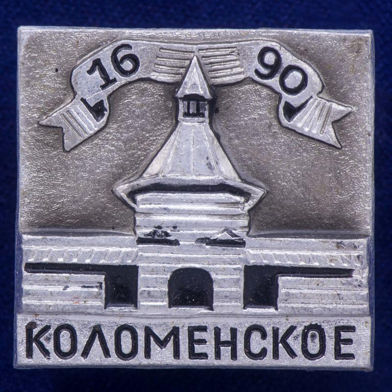 Значок с Коломенским