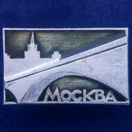Значок с Москвой