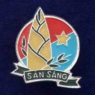 """Значок """"San Sang"""""""