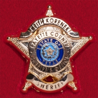 Значок шерифа округа Фейетт, Техас