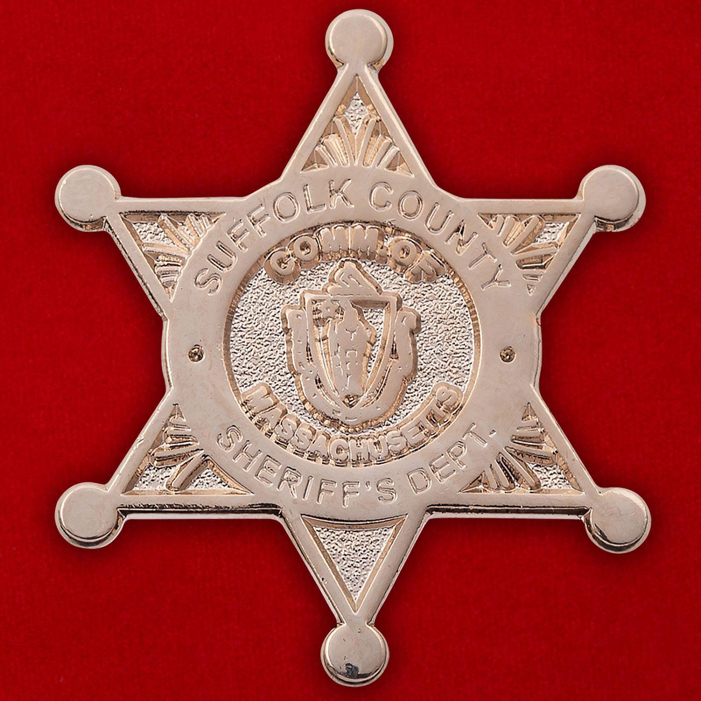 Значок шерифа округа Суффолк