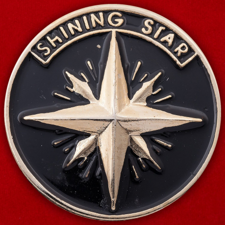 "Значок ""Shining star"""