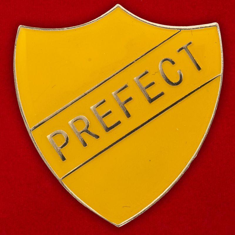 """Значок школ Великобритании """"Префект"""""""