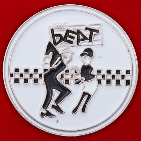 """Значок ска-ривайвл-группы """"The Beat"""""""