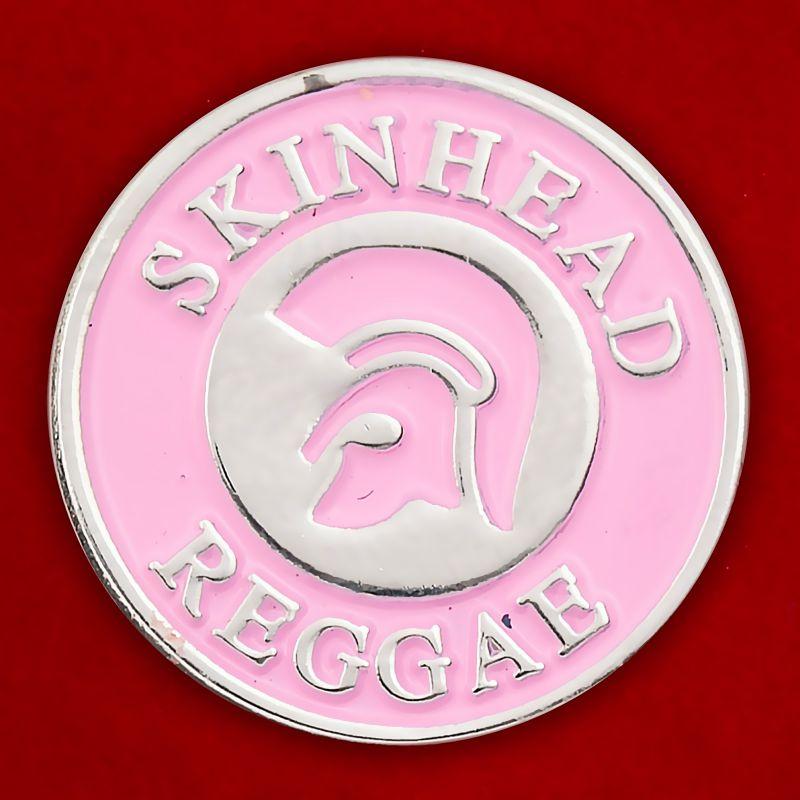 "Значок ""Скинхед-регги"""