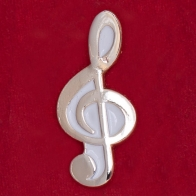 """Значок """"Скрипичный ключ"""""""