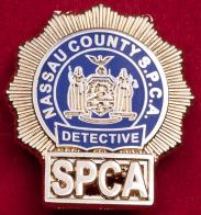 """Значок """"Следователь отдела по рассмотрению жалоб граждан на действия полиции"""" округ Нассау, США"""