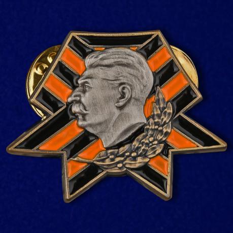 Значок со Сталиным
