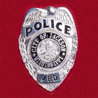 Значок сотрудников полиции города Джексон, Миссури, США