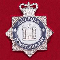 Значок сотрудников полиции графства Саффолк, Англия