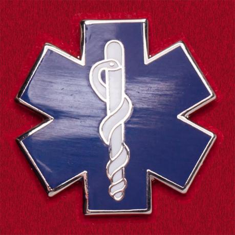Значок сотрудников скорой медицинской помощи (Звезда жизни)