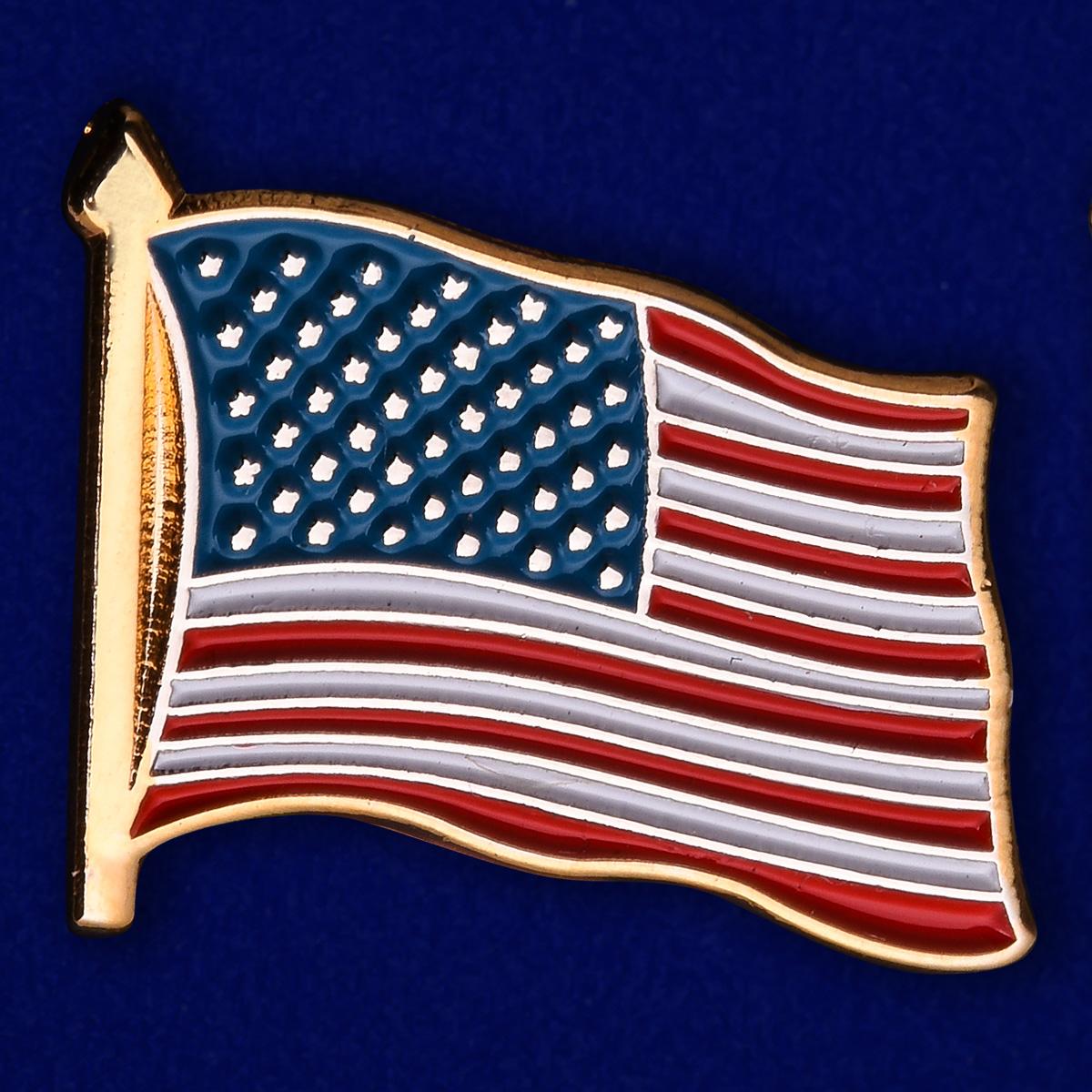 Значок США