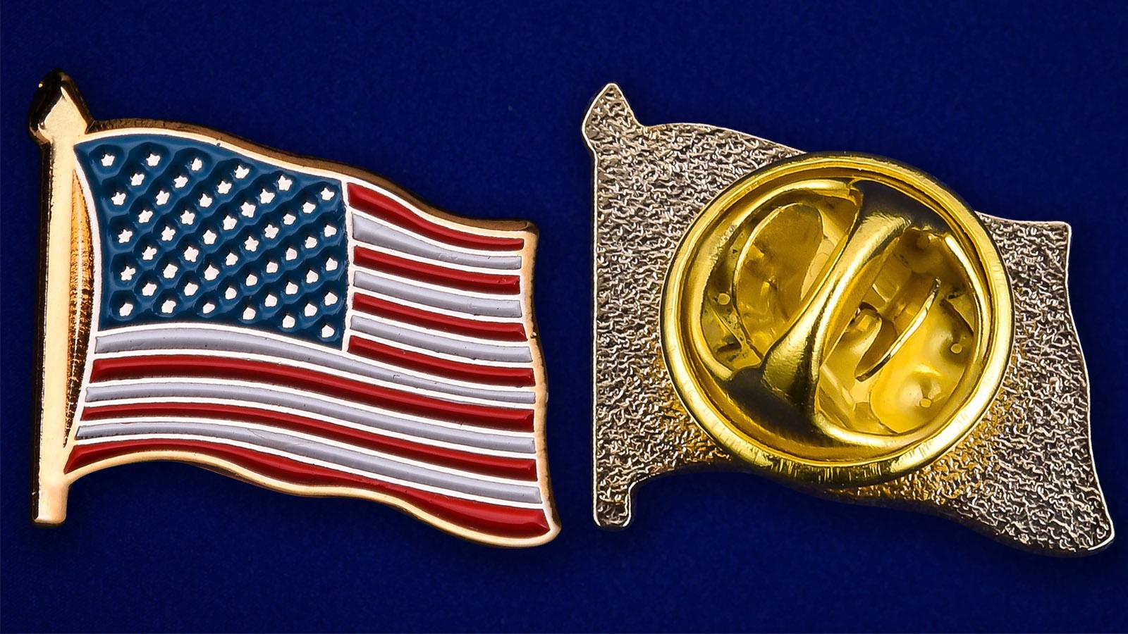 Значок США - аверс и реверс