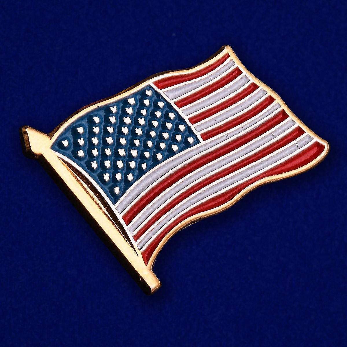Значок США - общий вид