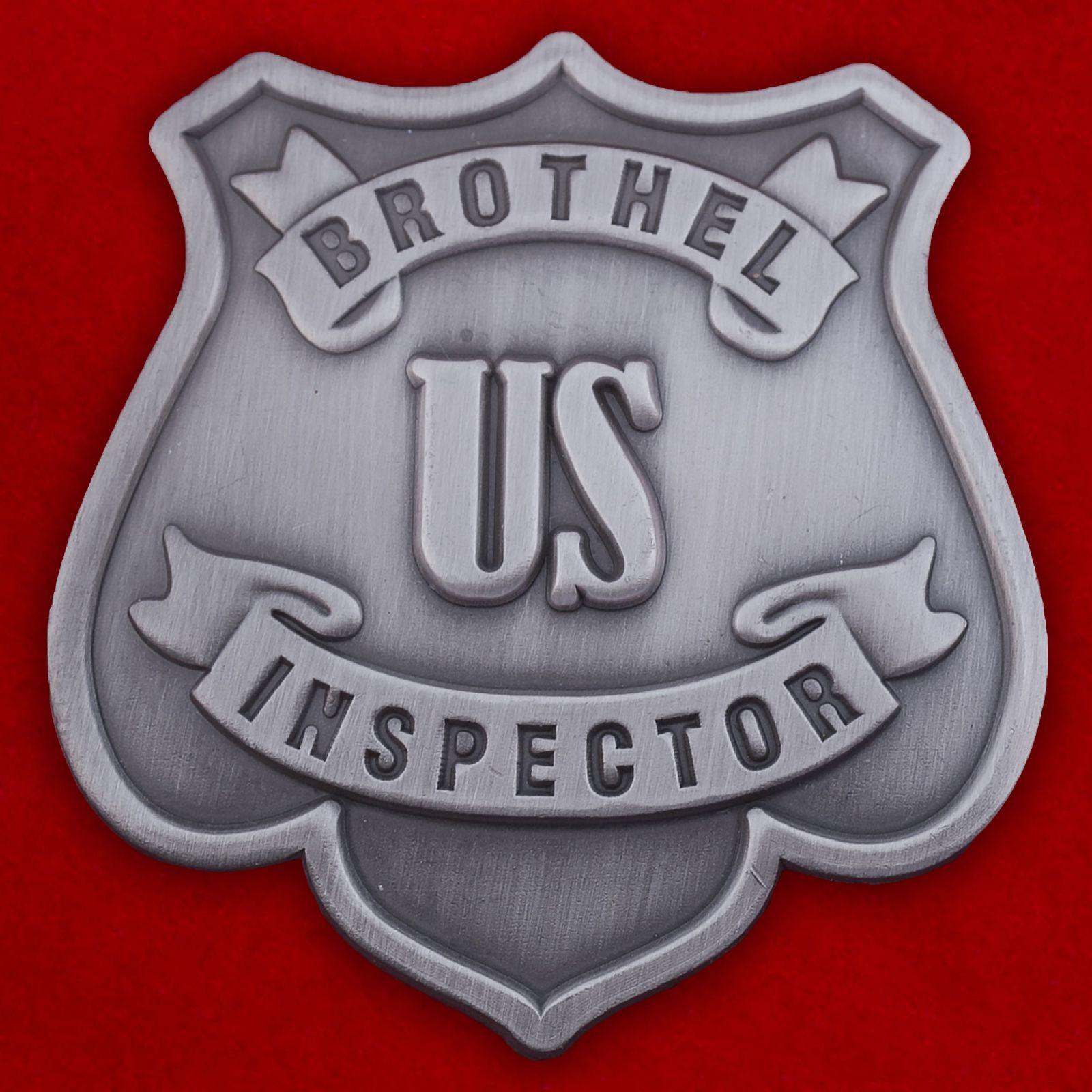 "Знак США ""Brothel Inspector"""