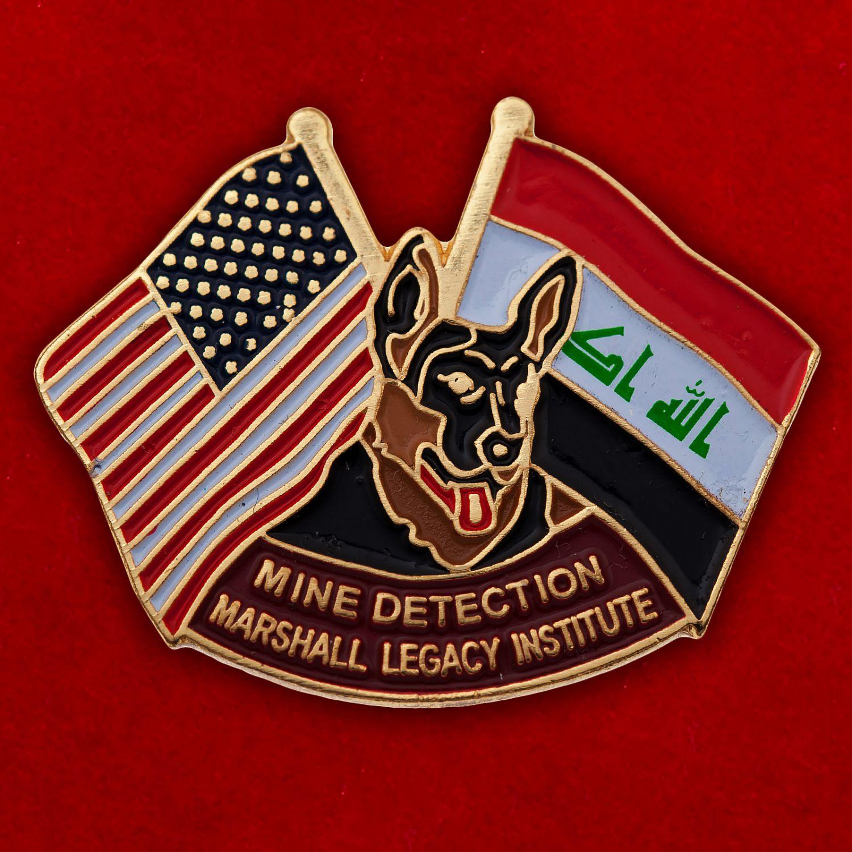 "Значок ""США - Ирак"""