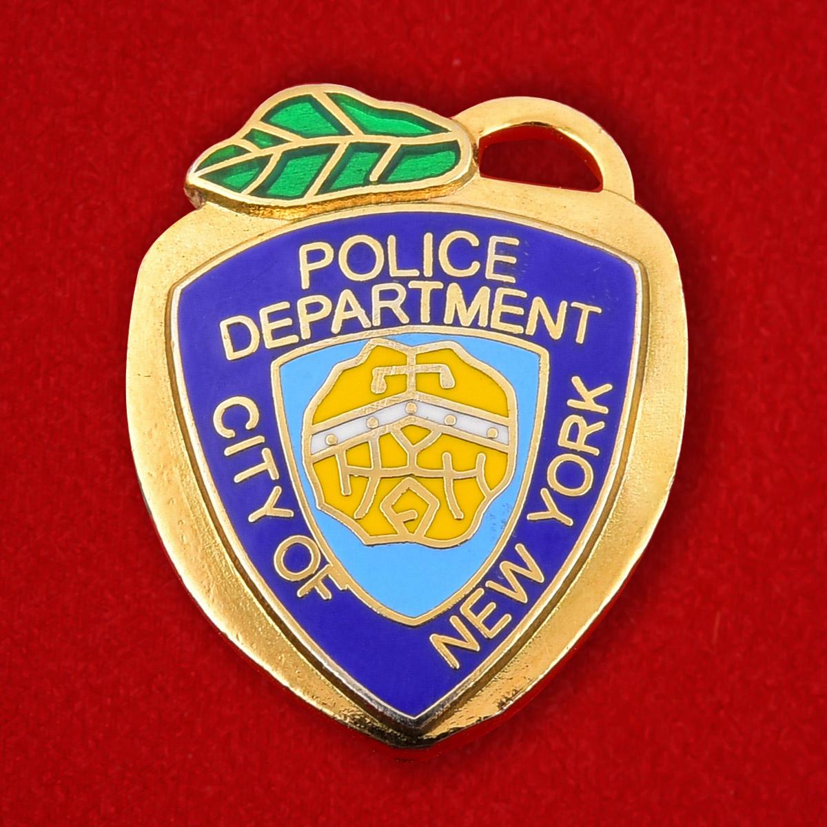 """Значок США """"Полицейский департамент Нью-Йорка"""""""