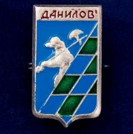 "Значок СССР ""Данилов"""