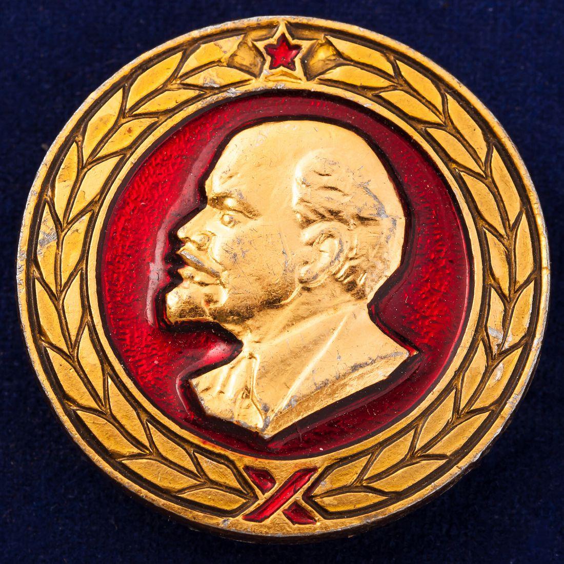 Значок СССР с Владимиром Лениным
