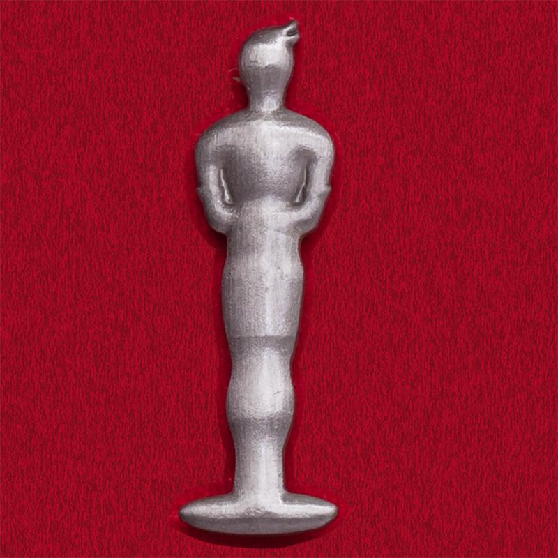 "Значок ""Статуэтка Оскар"""
