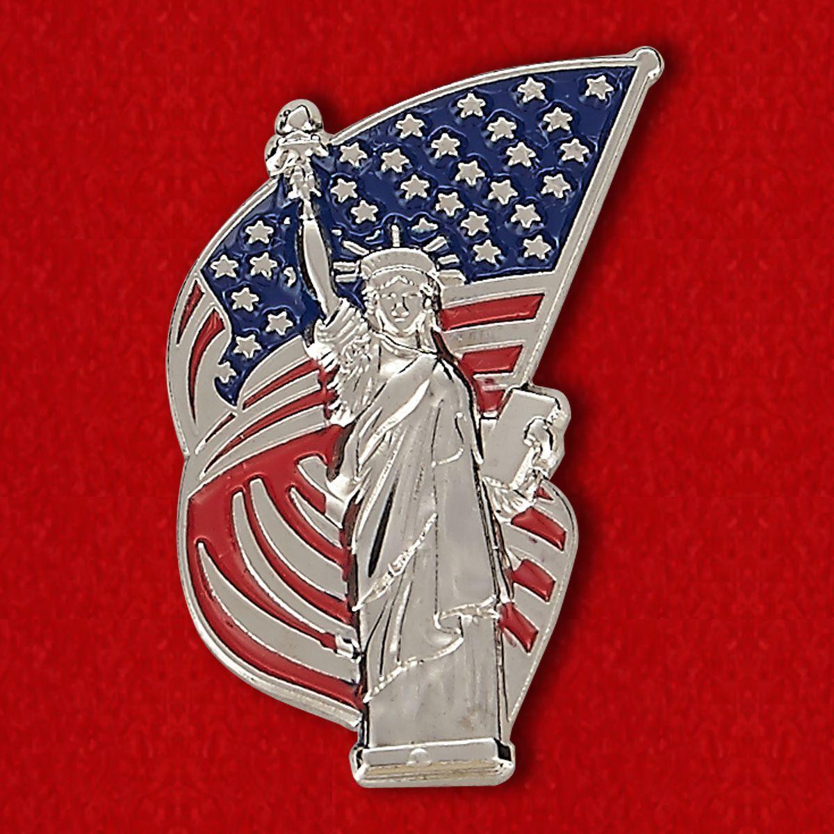 """Значок """"Статуя Свободы"""""""