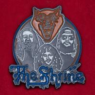 Значок стоунер-рок группы The Shrine