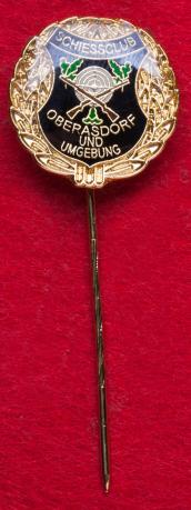 Значок стрелкового клуба в городе Фройденберг, Германия
