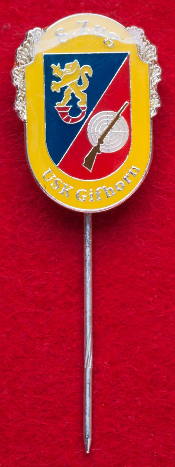 Значок стрелкового клуба в городе Гифхорн, Германия