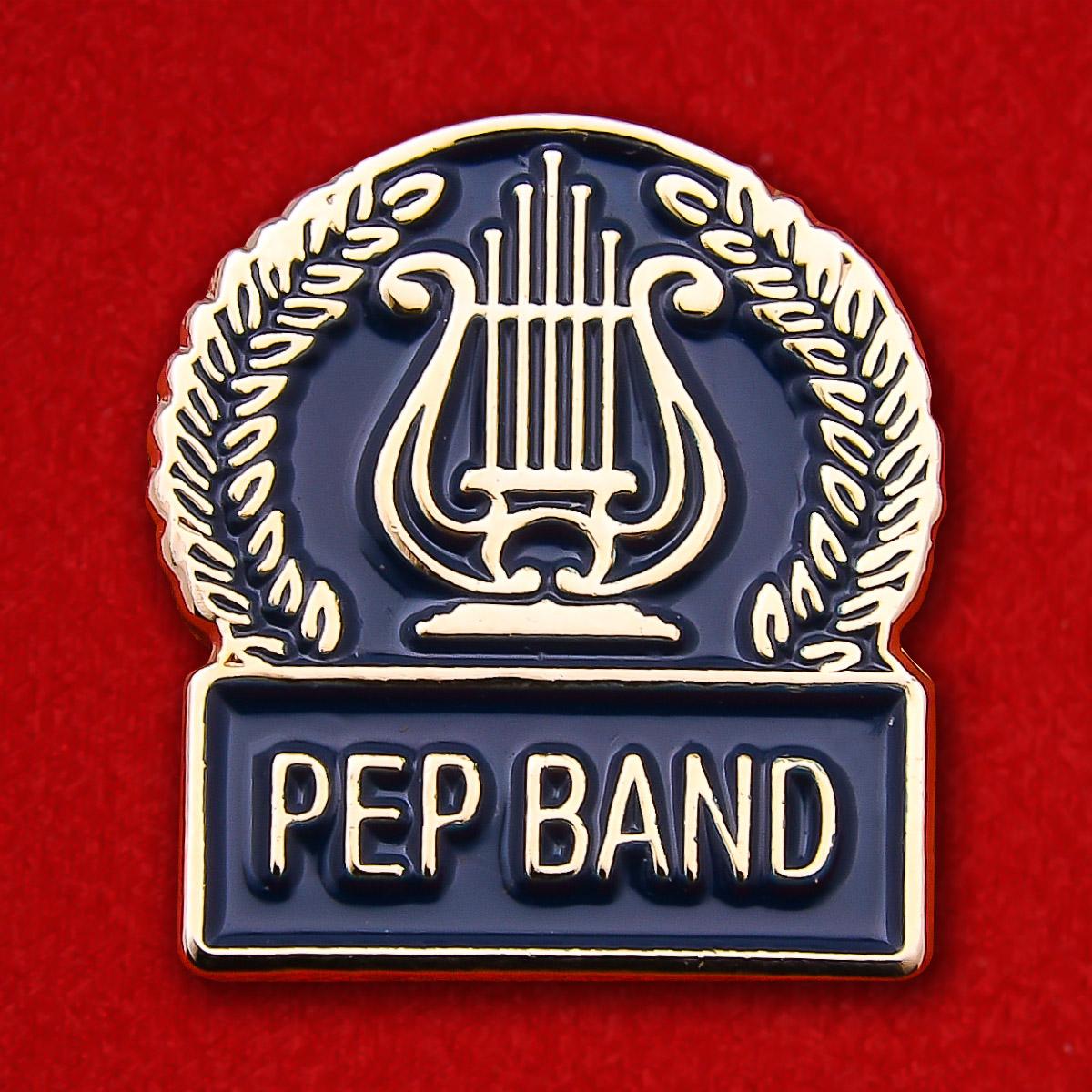 "Значок студенческих ВИА ""Pep Band"""